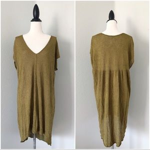 Free People Tops - Free People Take it Easy  V-Neck Tunic Top